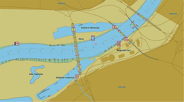 Plovput Plovidba Elektronske Plovidbene Karte